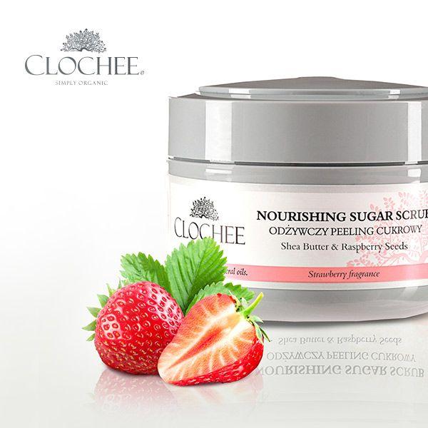 Lubicie zapach truskawki?  https://www.clochee.com/produkt-14-6-odzywczy-peeling-cukrowy-truskawka.html #peeling