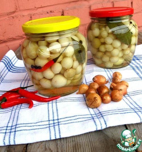 Маринованный жемчужный лук - кулинарный рецепт