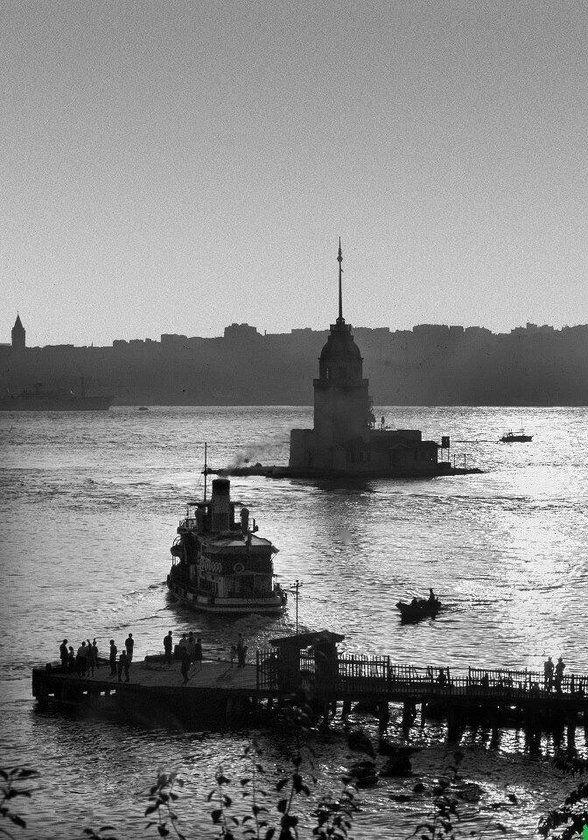 İstanbul___ARA GÜLER...Salacak İskelesi - 1960'lar