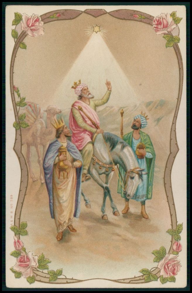 1950s Israel Bottle Opener Christmas Biblical Magi Three Wise Men Camels Engraved Brass Travel Souvenir New Unopened in Original Packaging