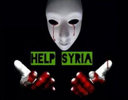 Help Syria | Anonymous ART of Revolution