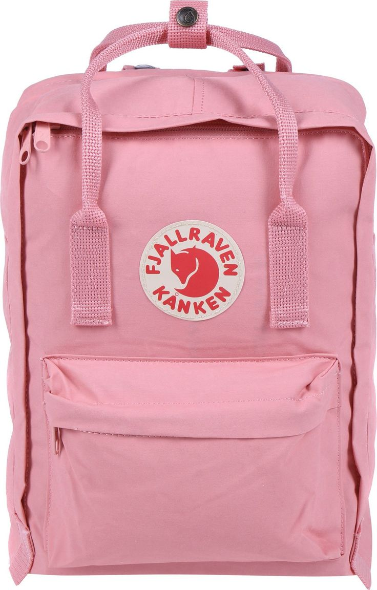 "Fjallraven Kanken 13 Backpack Pink 13L. Laptop version of our best-selling Kanken daypack. A padded compartment protects your 13"" laptop. These packs also included a removable seat pad, padded shoulder straps and front/side pockets."