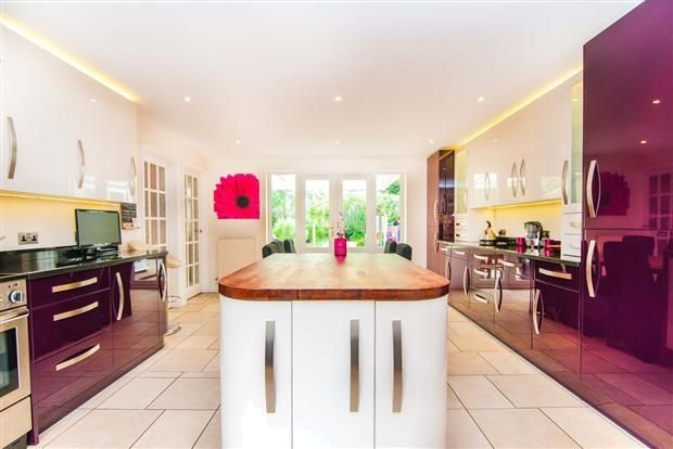 How about this for a #kitchen colour scheme!