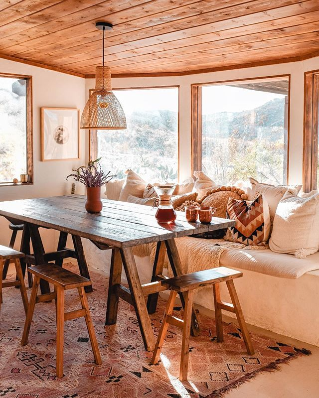 But What I Discovered Almost Instantly Was That As Soon As I Was In One Place Undistracted The World Lit Up And I Was Tree House Decor Joshua Tree Airbnb Decor