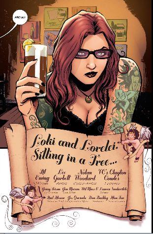 Comic where loki goes speed dating