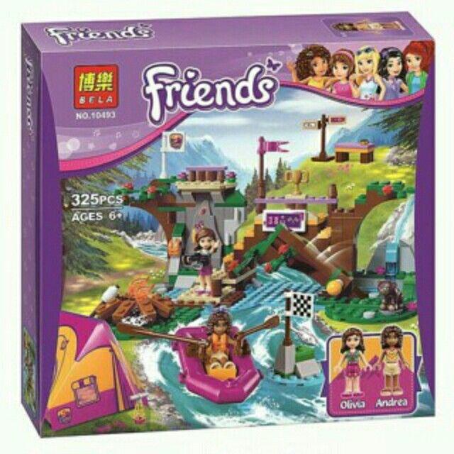 Temukan PROMO TERBATAS - bricks Seri Friends Adventure Camp Rafting - bela - dengan potongan 20%! Hanya Rp136.000. Dapatkan segera di Shopee! https://shopee.co.id/dheel/219410980 #ShopeeID