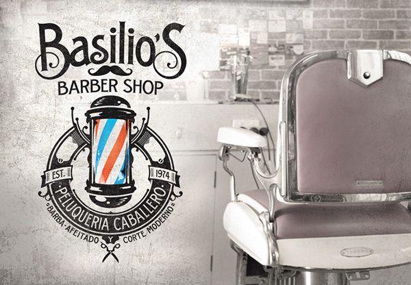 Basilio´s Barber Shop on Behance