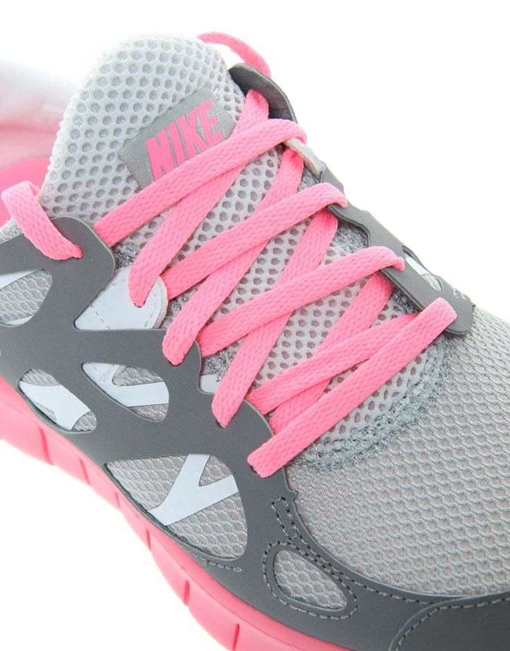 I'm TOTALLY getting these Nike Free Running 2 Gray and Pink Sneakers as a reward when I get up to running 3 miles