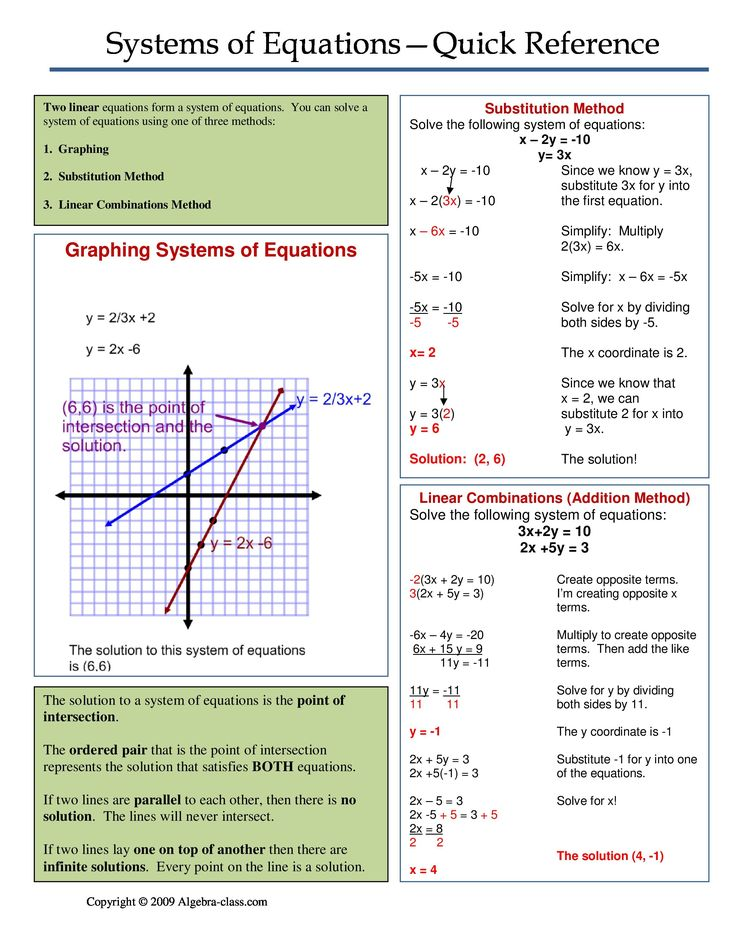 Systems of Equations WORD PROBLEMS Systems of equations