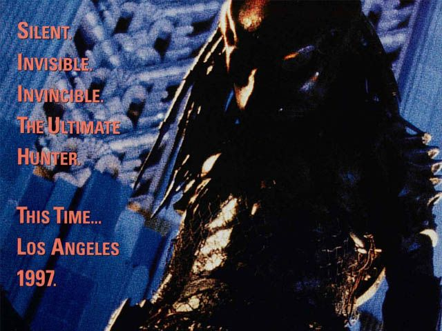 Predator 2 features Danny Glover, Gary Busey, Bill Paxton, Kevin Peter Hall and Maria Conchita Alonso. It is the sequel to Predator.