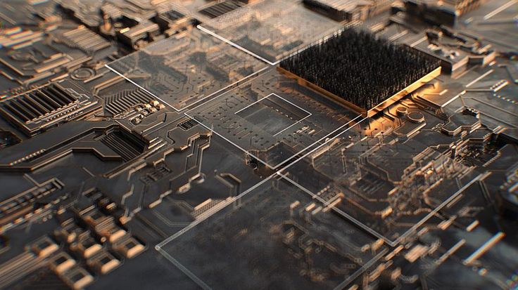 Finally getting around to playing with #Redshift & #JSPlacement (All #displacement no #modelling) . . . #circuitboard #circuitry #circuitfx #copper #gsg #hdrilink #metal #refraction #progressbeforeperfection #dof #c4d #3d #cg #maxon #cinema4d #aftereffects #insta3d #fa_hypnotic  #thegraphicspr0ject #digitalart #cgaexcellence #lucidscreen #illmatic_features #thednalife #mdcommunity #rsa_graphics