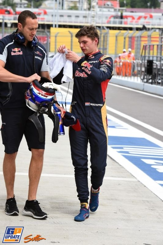 Max Verstappen, Formule 1 Grand Prix van Rusland 2016, Formule 1