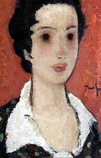 Tanara fata - Nicolae Tonitza