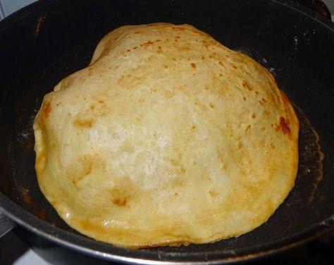 Surinaamse recepten: Surinaamse roti zelf maken: roti gevuld met dahl (gele spliterwten)