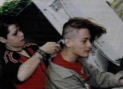 Fairuza Balk shaving Edward Furlong's head for 'American History X'