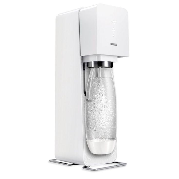 SodaStream Jeu pour Boissons Gazéifiées 'Source' - Blanc