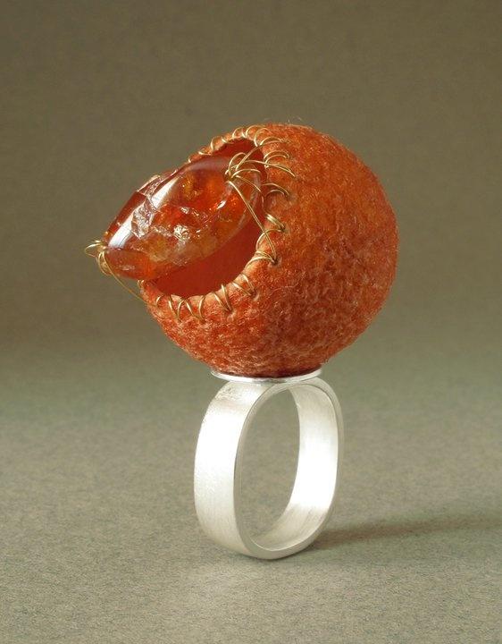 Walter Chen - Silk Cocoon Ring