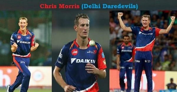 Chris Morris is doing well for Delhi in IPL 10 with bat & ball. He is on 2nd spot of highest wicket taker in IPL 2017. Chris Morris wickets in IPL 10 is much helping Delhi to win the match.