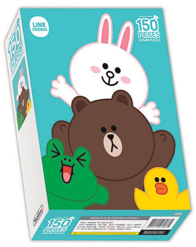 Naver Line Friends Characters 150 pieces Toy Jigsaw Puzzles FRIENDS #LineFriends