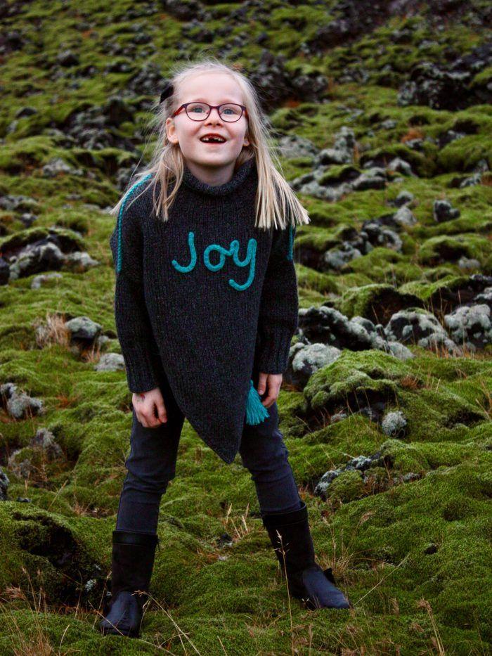c06646fe Joy-Poncho   Scarf, shawl and poncho   Uld, Silke, Strik