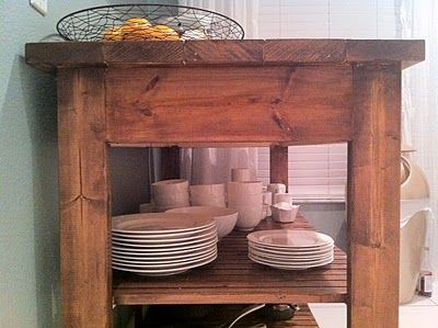 Ana White   Build a Easy Kitchen Island Plans   Free and Easy DIY Project and Furniture Plans: Kitchens, Domestic Jenny, Diy'S, Diy Kitchen Island, Kitchen Islands, Diy Projects