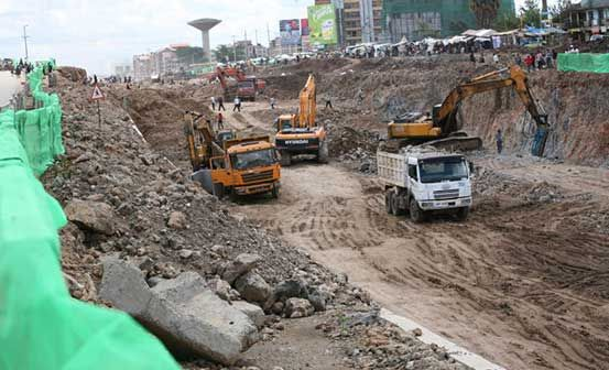 Ngong and Outer Ring roads 'almost complete' :: Kenya - The Standard