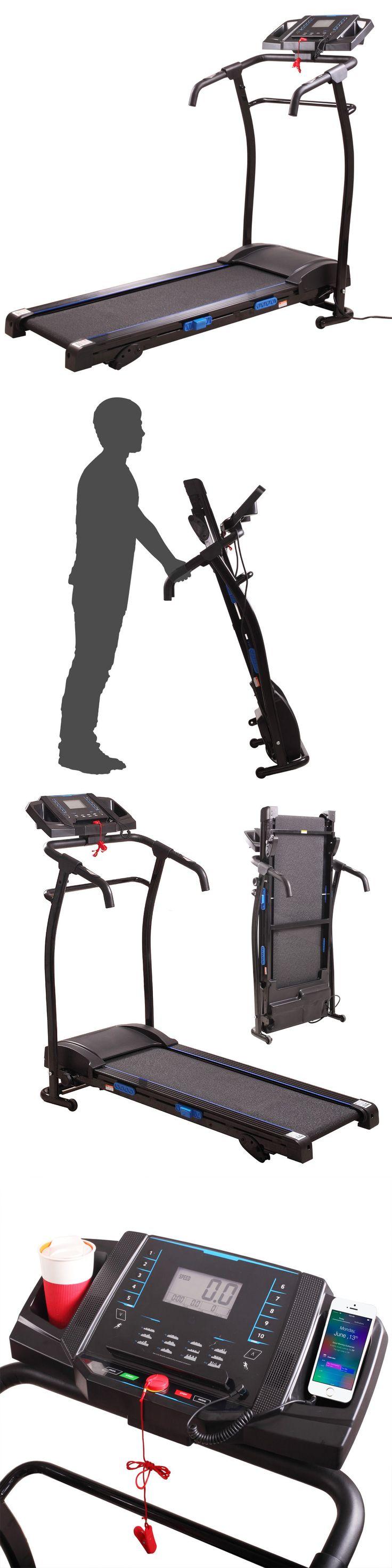 Treadmills 15280: Treadmill Portable 1500W Folding Electric Motorized Running Gym Fitness Machine -> BUY IT NOW ONLY: $294.99 on eBay!