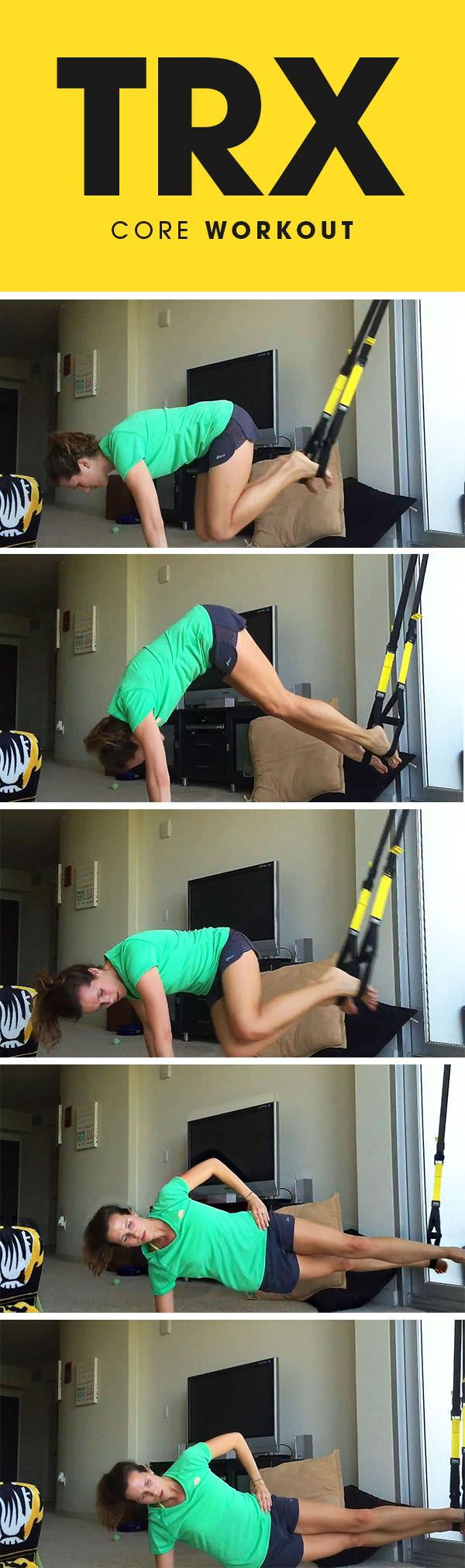 TRX Ab Workout for the entire core