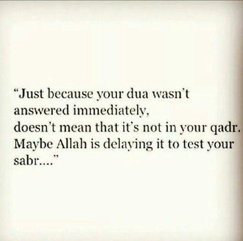 Sabr, have patience and pray to Allah ( azza wa jaal)