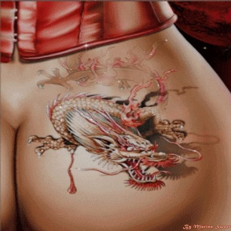 Dragon Tattoo Animated Gifts Bank Marina Sweet Pinterest Tattoo