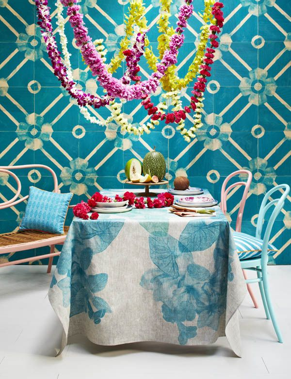 New 'South Pacific' range byBonnie and Neil. Photo byArmelle Habib, Flowers byKatie Marx, styling by Heather Nette King!