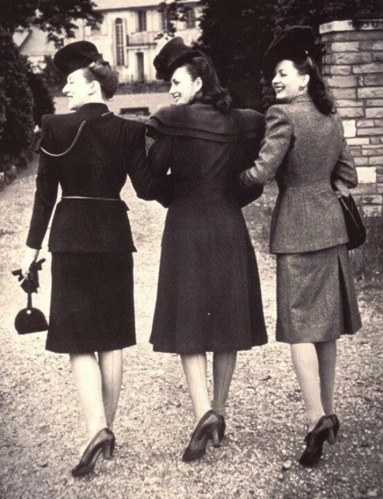 Amazing 1940's fashion... | Girls Just Want To Have Fun ...