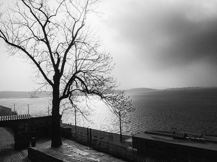 Oslo Harbor seen from Akershus Fortress