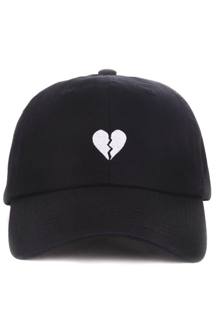 Any Memes Hat Broken Heart Dad Black