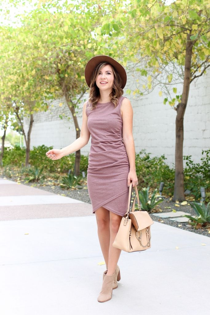 0aa1129ff Simply Sutter - fall dress - dress and boots - dress and hat - best fall  dress