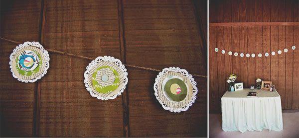 cute. #wedding #crafts #reception