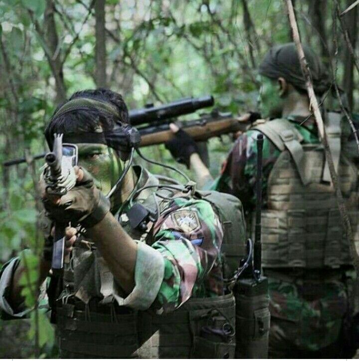 15 Best Indonesian Army Images On Pinterest