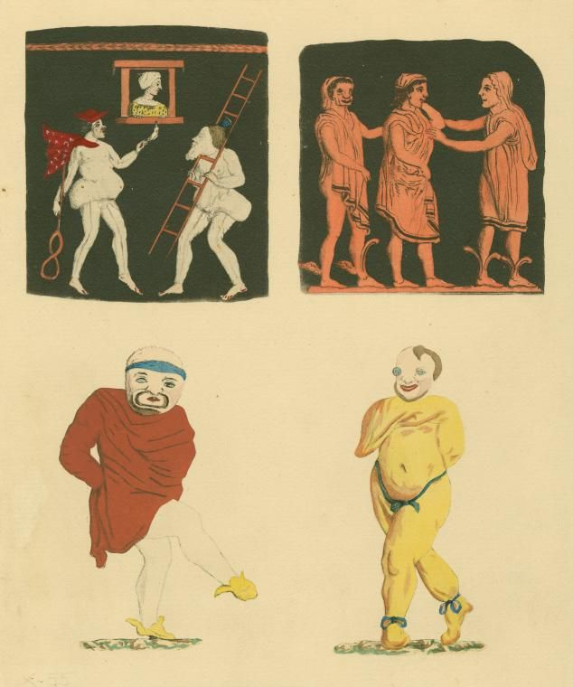 Chp. 3 Roman Comedy Stock Characters. A stock character is one that the audience will be familiar with and that is used in many plays. They were greatly used by Plautus. Stock characters could be recognized by their speeches, the costumes they wore, which varied with the type of show but were used to identify the type of character. Stock Characters included Senex, Leno, Parasitus, servi, ancella, matrona, meretrix, virgo, and adulescen.