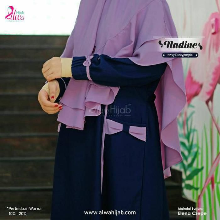 Model Gamis Alwa Hijab Terbaru Baju Muslim Hijab Muslim