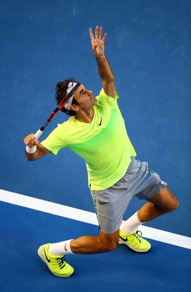Australian Open 2015 Day 1: Roger Federer