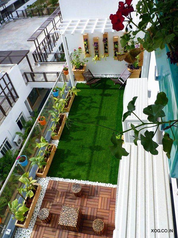 Sai Anusha S Apartment Is Inspired By Chettinad Houses Small Balcony Design Balcony Design Terrace Garden Design