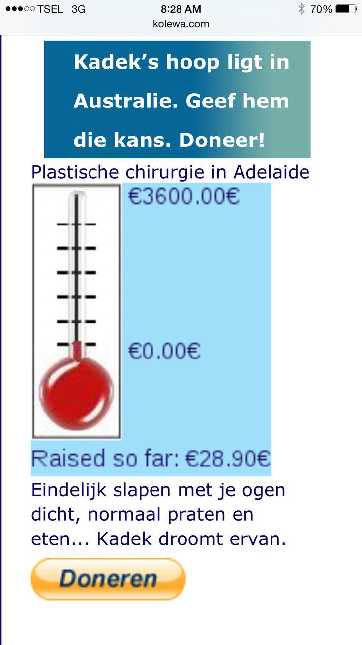 Gemakkelijk doneren via www.kolewa.com