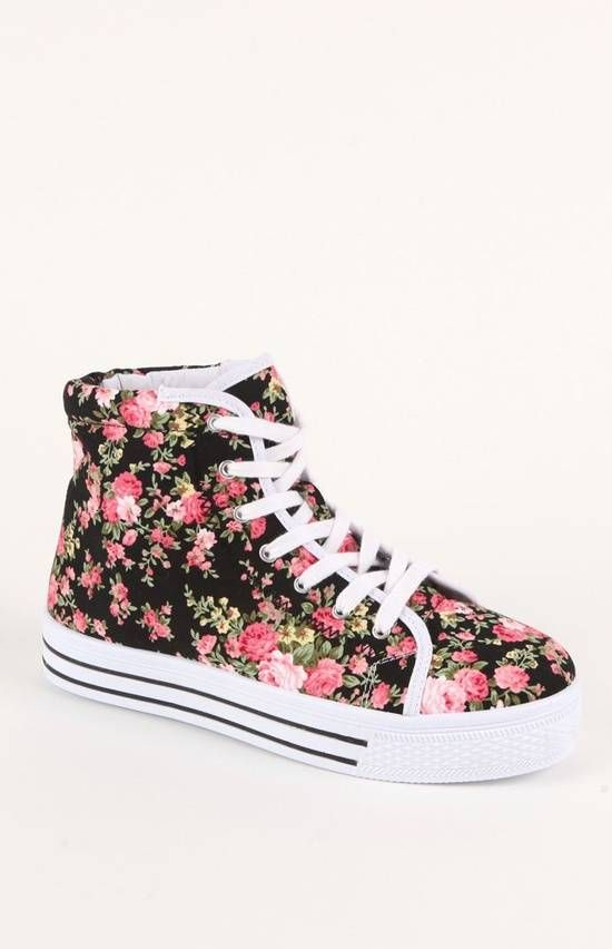 Maniac Platform Sneakers by Qupid | Shoes | Pinterest