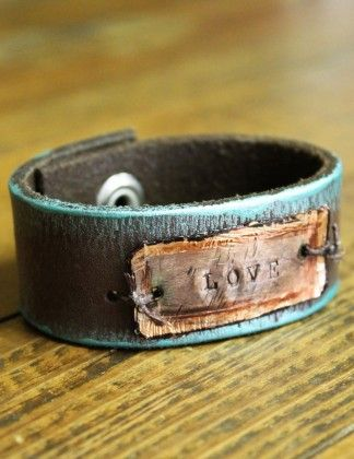 Love Leather Cuff                                                                                                                                                                                 More