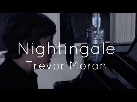 Trevor Moran singing nightingale by Demi lovato. OMG HE'S SO PERFECT.