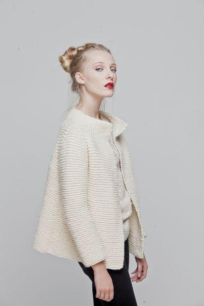 "Knitting Kit ""Martina Cardigan"" from We Are Knitters by DaWanda.com"