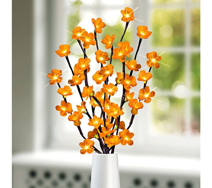 LED svíticí větvička, žluté květy | magnet-3pagen.cz #magnet3pagen #magnet3pagen_cz #magnet3pagencz #3pagen #podzim #dekorace #fall #autumn #decoration