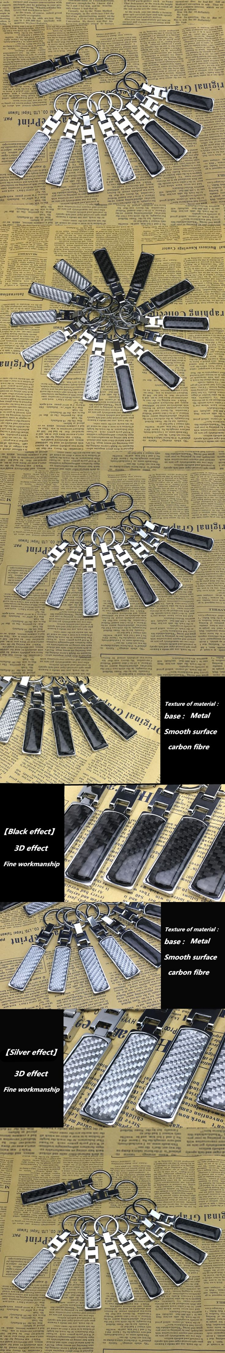 1pcs metal carbon fiber key buckle ring chain for Infiniti FX35 FX37 EX25 G37 G35 G25 Q50 QX50 Car Styling
