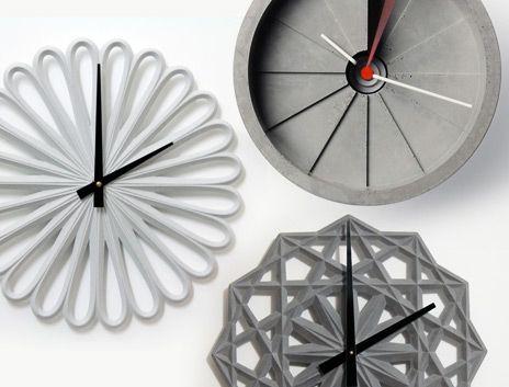Concrete Clocks