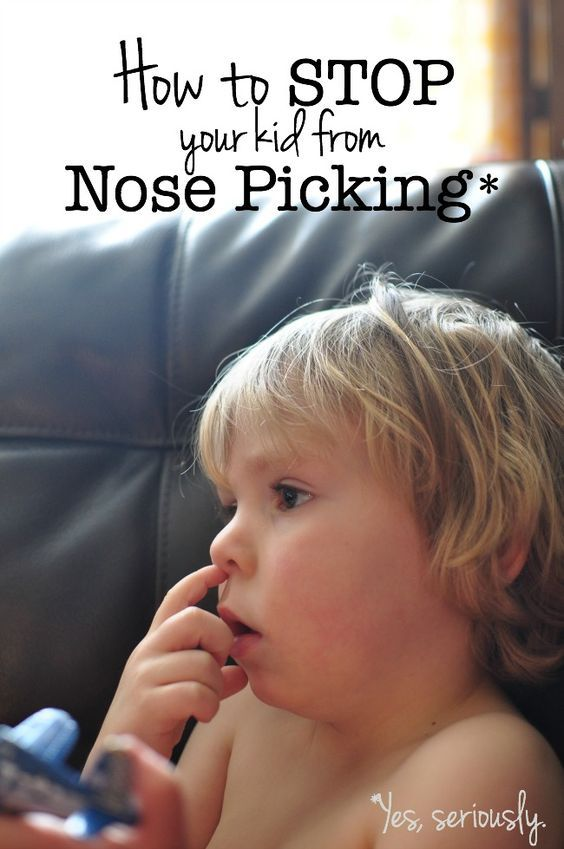 Tips to Stop Your Kid from Nose Picking | The Shopping Mama